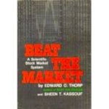· pict page · order(s) Beat the Market by Edward Thorp & S. Kassouf - Hardcover with DJ