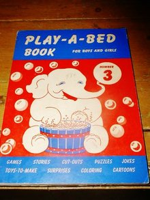 Play - A - Bed  Book, Number 3,   Children's Activity Book