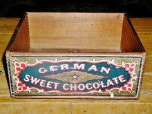 Baker's German Chocolate Wood Box, 1900,