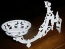 White Oil Lamp Wall Bracket