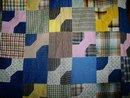 Bow Tie Quilt Top, 1880's,  QTP