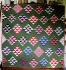 Civil War Era Nine Patch Quilt, 1860/80's,   QLT