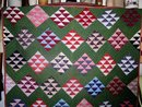 Pre-Civil War Era Nine Patch Quilt,,   QLT