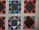 Square in a Square Quilt, 1880-1900,     QLT