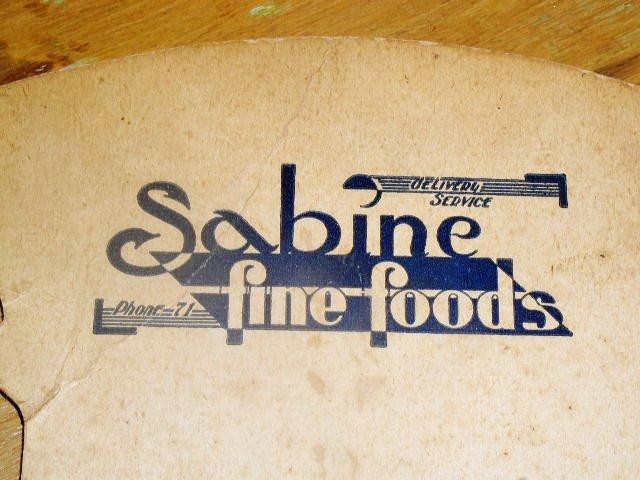 Sabine Foods Foldable Cardboard Fan