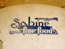 Sabine Foods Foldable Cardboard Fan