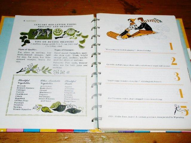 Betty Crocker's Cooking Calendar Book  -  CK
