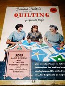 Barbara Taylor's Book on Quilting  -  QK