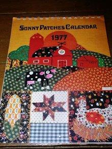 1977 Sunny Patches Quilt  Calendar   -  QK