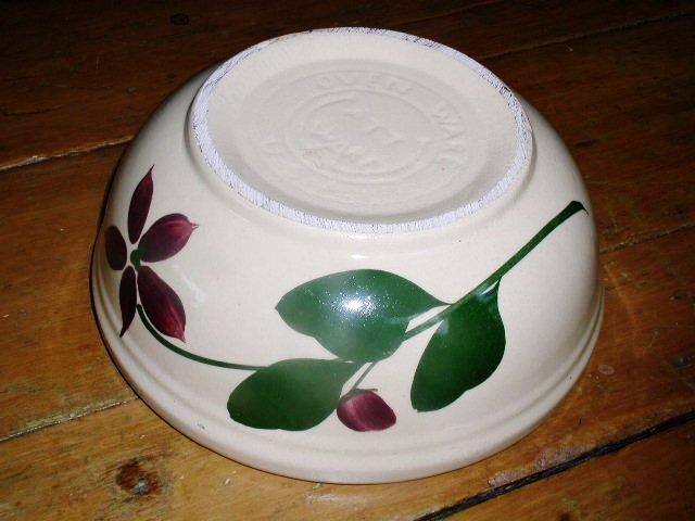 Wattsware Starflower Bowl