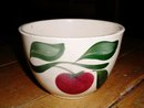 Wattsware Apple Pattern Bowl