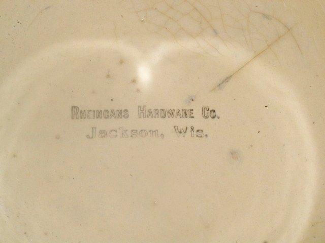 Wattsware Apple Pattern Bowl
