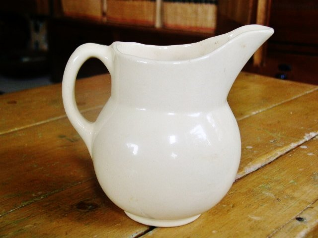 Wattsware Apple Pattern Pitcher