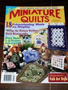 Miniature Quilts Magazine, 2000,   -  QM