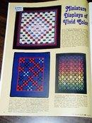 Miniature Quilts Magazine, 2001,   -  QM