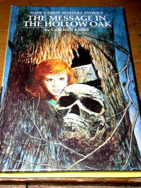 Nancy Drew,  The Message in the Hollow Oak Book