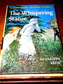 Nancy Drew,  The Whispering Statue Book