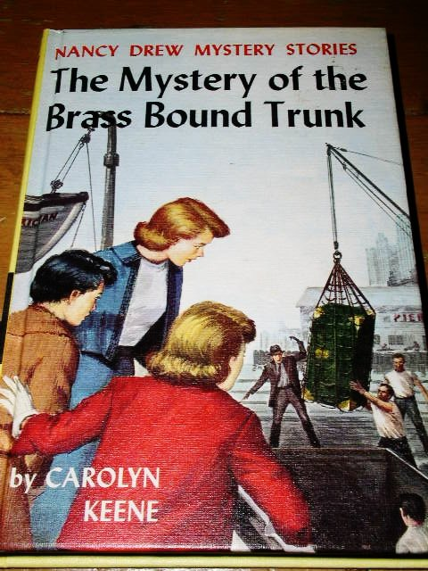 Nancy Drew,  The Mystery of the Brass Bound Trunk Book