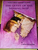Nancy Drew,  The Quest of the Missing Map Book