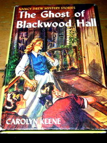 Nancy Drew,  The Ghost of Blackwood Hall Book