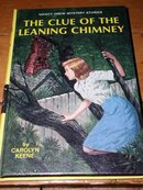 Nancy Drew,  The Clue of the Leaning Chimney Book