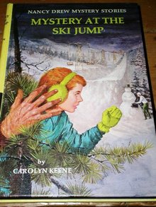 Nancy Drew,  The Mystery at the Ski Jump Book