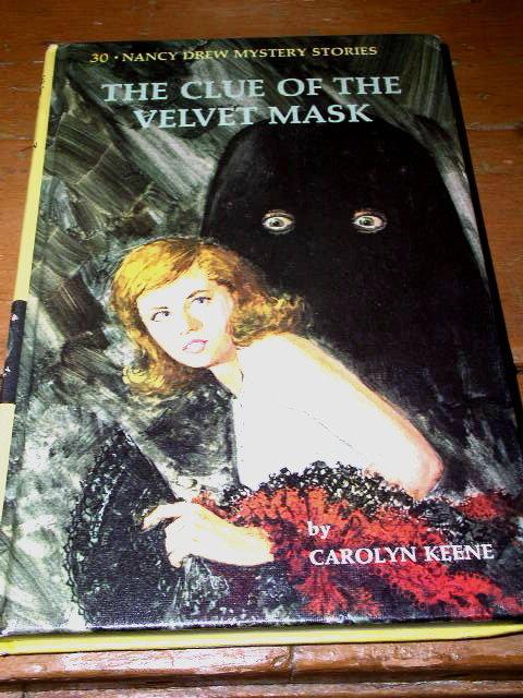 Nancy Drew,  The Clue of the Velvet Mask Book