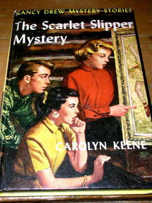 Nancy Drew,  The Scarlet Slipper Mystery Book