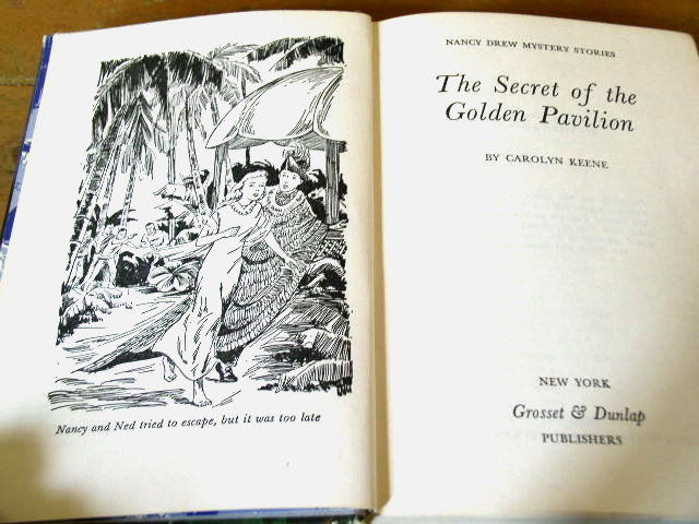 Nancy Drew, The Secret of the Golden Pavilion  Book