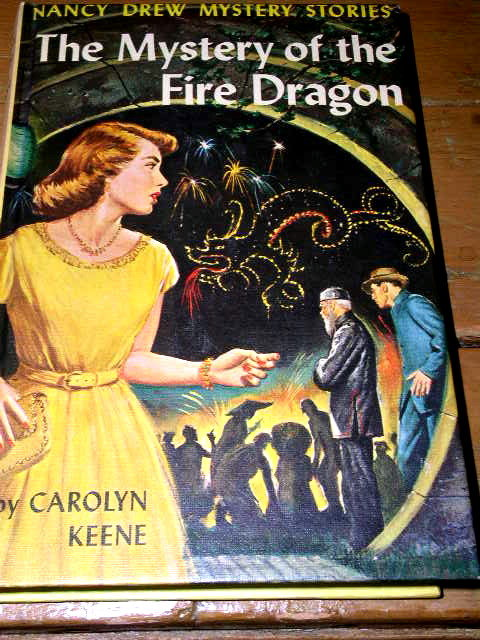Nancy Drew, The Mystery of the Fire Dragon  Book