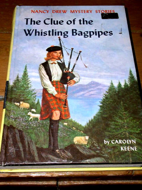 Nancy Drew, The Clue of the Whistling Bagpipes  Book