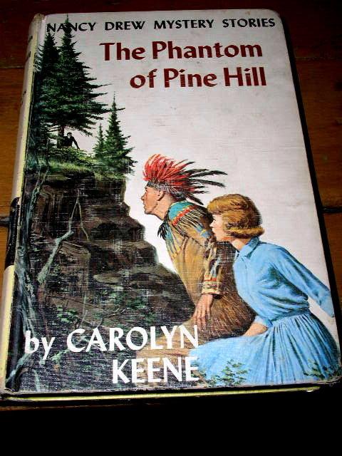 Nancy Drew, The Phantom of Pine Hill  Book