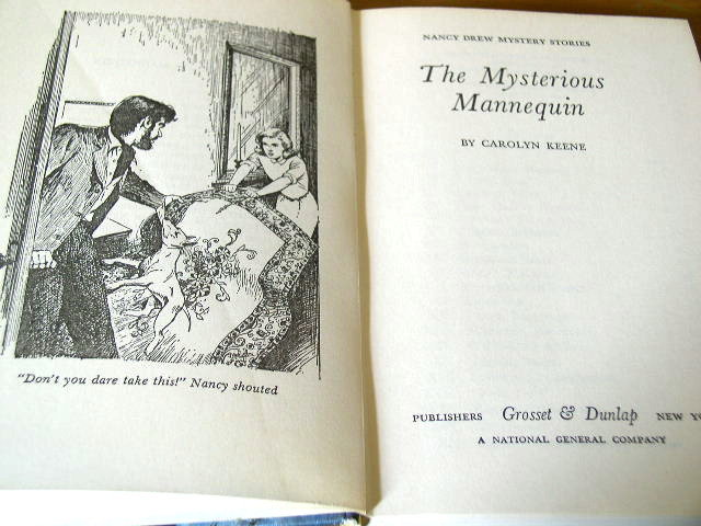 Nancy Drew, The Mysterious Mannequin  Book