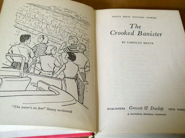 Nancy Drew, The Crooked Banister  Book