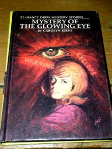 Nancy Drew, The Mystery of the Glowing Eye  Book