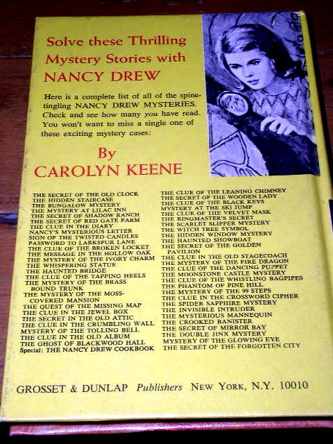 Nancy Drew, The Secret of the Forgotten City  Book