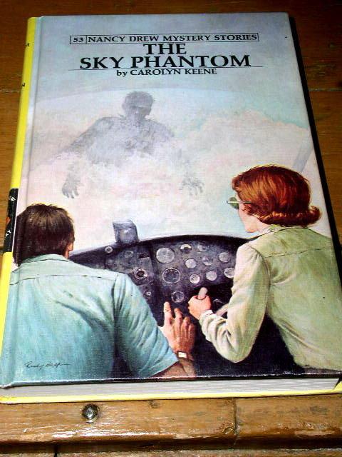 Nancy Drew, The Sky Phantom  Book