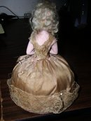 Bisque Half Doll Pincushion