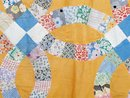 Double Wedding Ring Quilt Top  -  QTP
