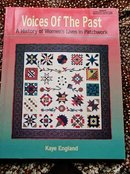 Voices of the Past Quilting Book  -  QK