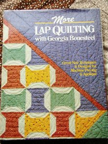 More Lap Quilting  Book  -  QK