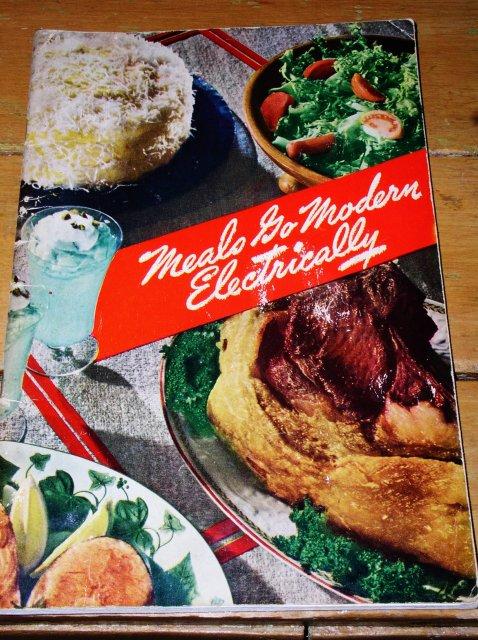 Meals Go Modern Electrically Cookbook  -  CK