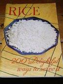 Rice - 200 Delighful Ways To Serve It Cookbook  -  CK