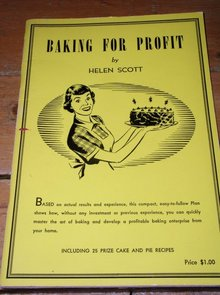 Baking For Profit Cookbook   -  CK