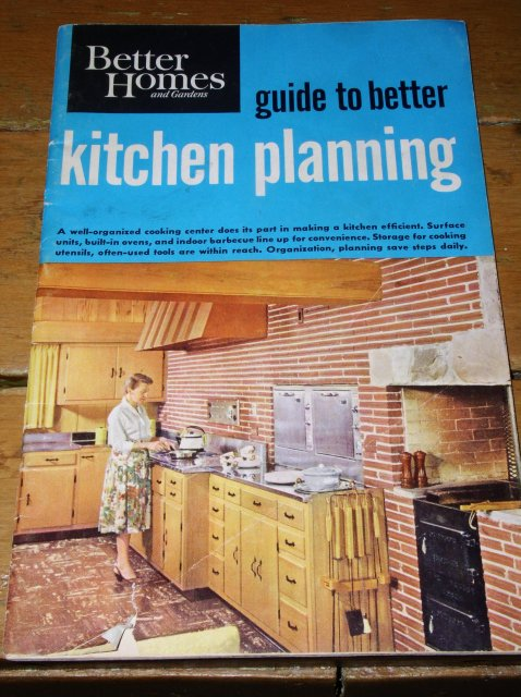 Better Homes & Gardens Guide to Better Kitchen Planning Booklet