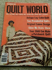 Quilt World Magazine, Dec 1976  - QM