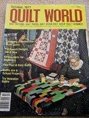 Quilt World Magazine,   October 1977  - QM
