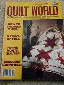 Quilt World  Magazine,   October 1981   - QM
