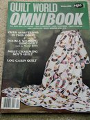Quilt World  Omnibook Magazine,   Winter 1982   - QM
