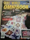 Quilt World  Omnibook Magazine,   Spring 1983   - QM